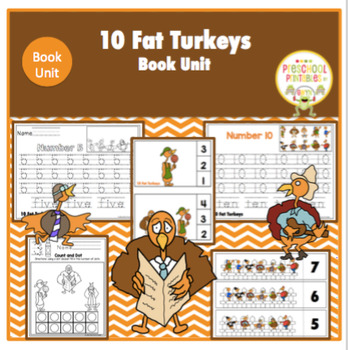 10 Fat Turkeys a Book Unit