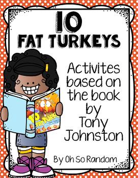 10 Fat Turkeys by Tony Johnston {Book Extension}