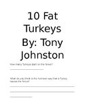 10 Fat Turkeys by Tony Johnston Comprehension Questions