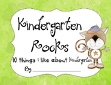 10 Favorite Things About Kindergarten Book