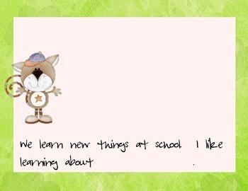 10 Favorite Things About Kindergarten Book