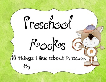 10 Favorite Things About Preschool Book