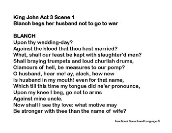 10 Female Shakespeare Monologues