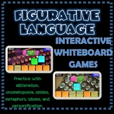 Figurative Language Interactive Whiteboard Games