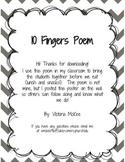 10 Fingers Poem