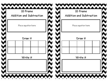 10-Frame Addition and Subtraction