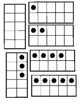 10-Frame Bingo/Subitizing Bingo