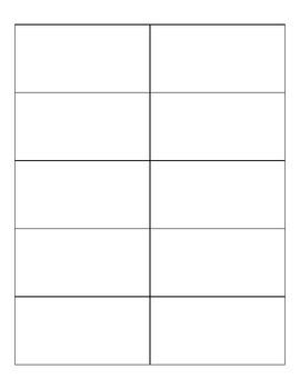 10 Frame - Blank