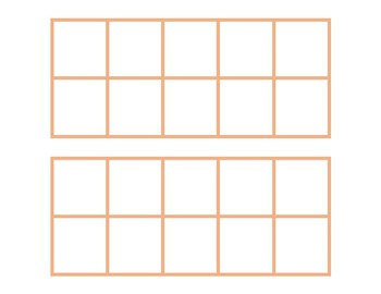 10 Frame - Blank Cards