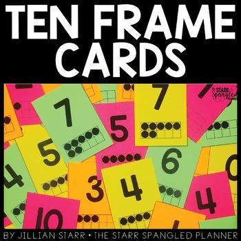 Ten Frame Cards (Full Deck)