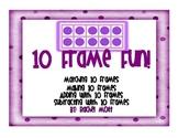 10 Frame Center Fun!