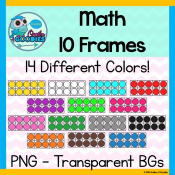 10 Frame Clipart (Commercial & Personal Use)