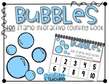 10 Frame Counting Book Bundle
