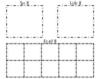 10-Frame Counting/Writing (Mini Eraser)