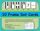 Black Ink Only 10 Frame Dot Cards