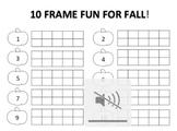 10 Frame Fall Fun