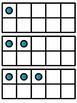 10 Frame Flash Dash Game + 4 [no prep] practice worksheets!