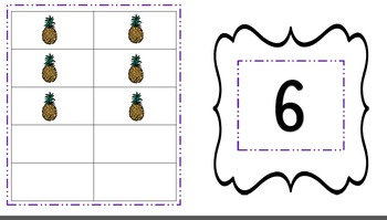 10 Frame Fruit Game