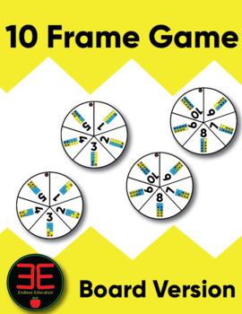 10 Frame Game (Board Version)