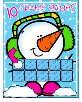 10 Frame Games {Winter}