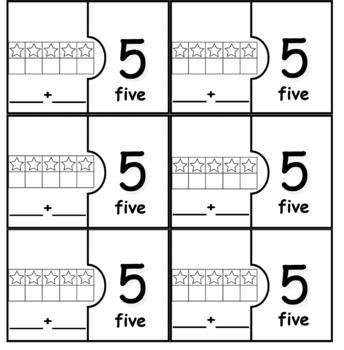 10 Frame MYO Matching Puzzles