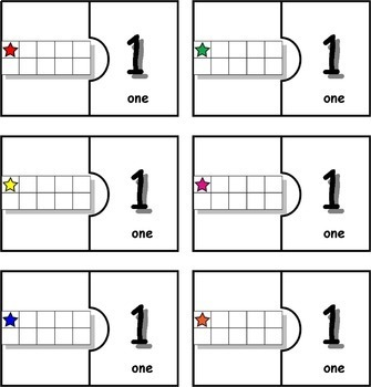 10 Frame Matching Puzzles