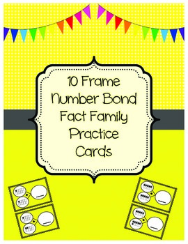 10 Frame Number Bond Fact Families