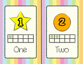 10 Frame Number Cards (1 to 20)
