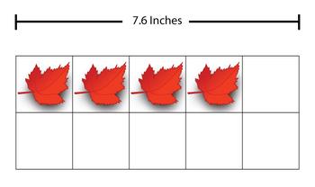10 Ten Frame Clip Art Fall Leaf Theme
