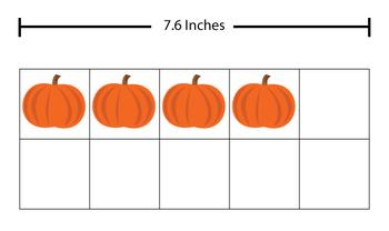 10 Ten Frame Clip Art Fall Pumpkin Theme