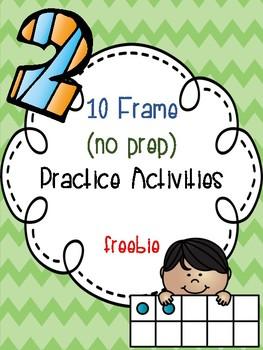 10 Frame Practice Freebie
