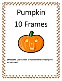 10 Frame Pumpkin Fun