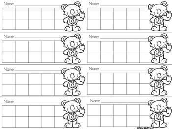 10 Frame Sticker Chart Freebie