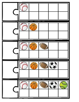 10 Frame Puzzles: Sports