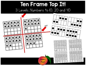 10 Frame Top It!  3 Levels!