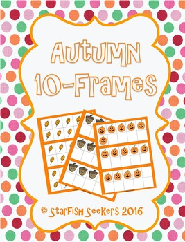 10 Frames - Autumn Themed