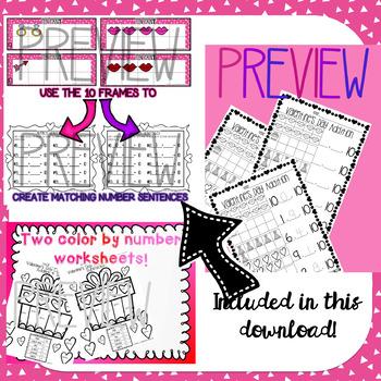 10 Frames Bundle! Kindergarten-1st Grade
