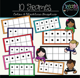 10 Frames - Digital Clipart