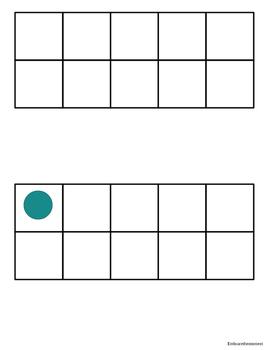 10 Frames Matching Game