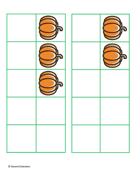 10 Frames Pumpkin Set