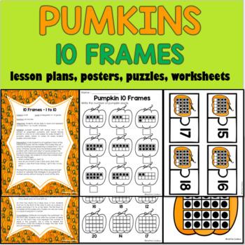 10 Frames Pumpkins
