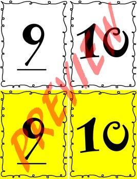10 Frames - Summer Themed