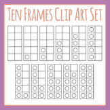10 Frames Template Set Clip Art Pack for Commercial Use