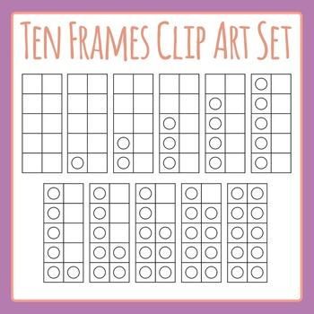 10 Frames Template Set Clip Art Pack for Commercial Use