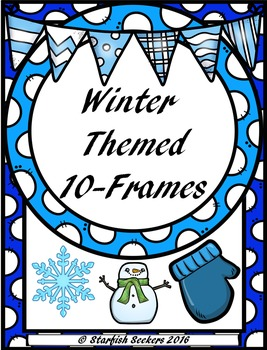 10 Frames - Winter Themed