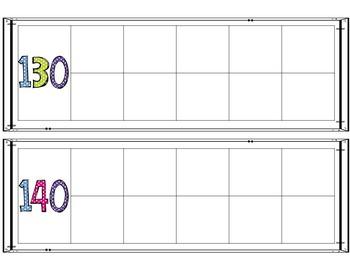 Ten Frames to 180