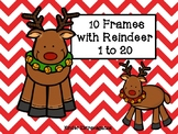 10 Frames with Reindeer