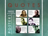 10 Free Author and Activist Posters For Your Culturally Re