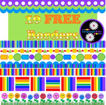 10 Free Borders