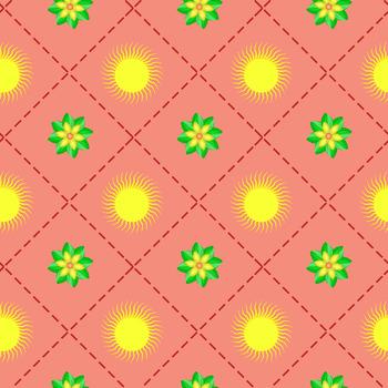 10 Free Cute Mushroom,Flower,Sun and Cloud,Snowflake,Paw Digital Papers